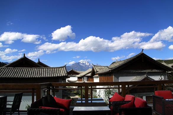 7 Colors Terrace © Crowne Plaza, Lijiang