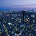 Night scene of Tokyo